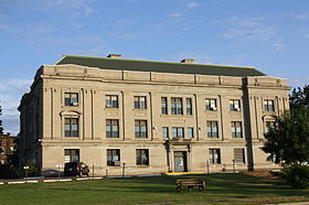 Ashland County Courthouse Wisconsin August 2012.jpg