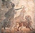 Asino, incoronato dalla dea Vittoria, che penetra un leone e Combattimento di gladiatori 002.JPG