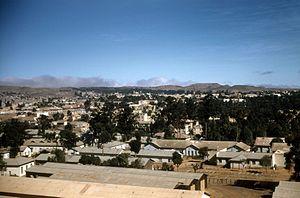 Central Region (Eritrea) - A view of Asmara