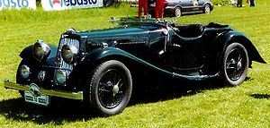Aston Martin 2-Litre 2/4-Seater Sports 1937
