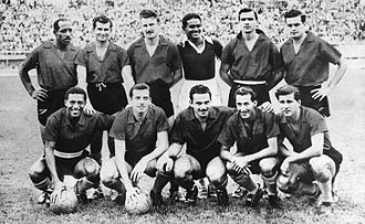 Atlético Nacional - The squad that won Atlético Nacional's first league title in 1958.