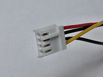 Berg connector - Image: Atx molex mini