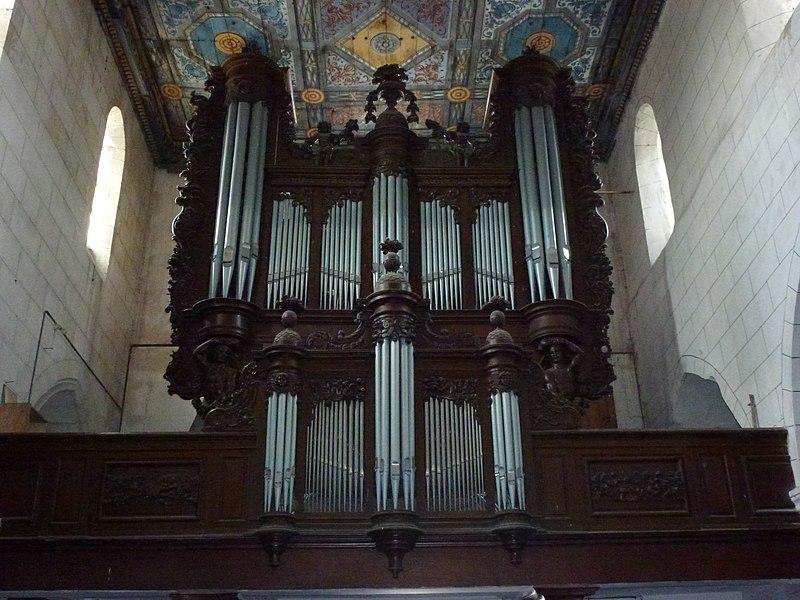 Aubenton (Aisne) Église Notre-Dame, les orgues