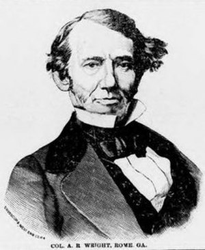 Georgia's 5th congressional district - Image: Augustus Romaldus Wright