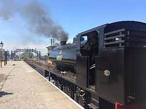 Bo'ness and Kinneil Railway - Image: Austerity Number 7
