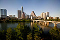 Austin Texas Sunset Skyline 2011.jpg