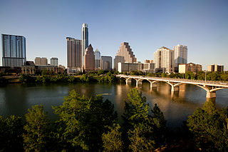 Downtown Austin human settlement in United States of America