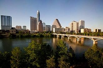 Downtown Austin - The Austin skyline in 2011