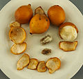 Australian grown Achacha fruits and seeds-1 (Garcinia humilis).jpg