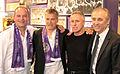 Austria-Legenden 2009 Herbert Prohaska, Ernst Baumeister, Robert Sara, Thomas Parits.jpg
