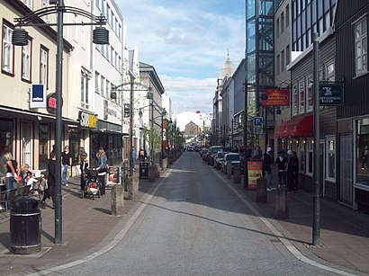 How to get to Austurstræti with public transit - About the place