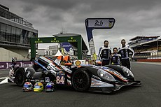 84 Morgan Lmp2 First Garage 56 Entry To Finish The 24 Hours Of Le Mans
