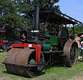 Aveling & Porter road roller (15760618546).jpg