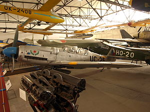 Avia S-199 - Avia CS-199; Prague Aviation Museum, Kbely