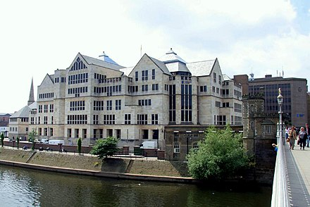 The Aviva Building - York is home to the office of one major company. Aviva, York.jpg