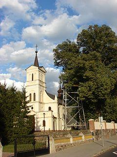 Błenna Village in Kuyavian-Pomeranian, Poland