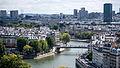 BNF et l'UPMC vues de la Tour Saint-Jacques, Paris août 2014.jpg