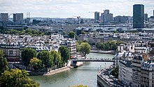 BNF et l%27UPMC vues de la Tour Saint-Jacques%2C Paris ao%C3%BBt 2014