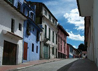 Locality of Bogotá in Bogotá D.C., Colombia