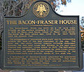 Bacon-Fraser house marker.jpg