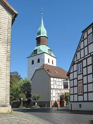 Bad Essen - Image: Bad Essen, die Sankt Nikolauskirche foto 5 2013 09 29 13.50