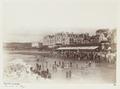 Bad på stranden i Biarritz, Frankrike, 1800-tal - Hallwylska museet - 107475.tif