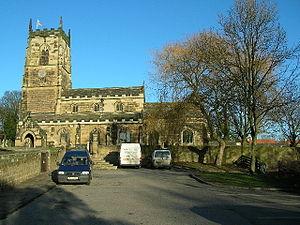 Badsworth - Image: Badsworth Saint Mary the Virgin Church