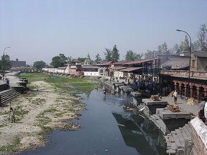 History of Kathmandu - Bagmati River