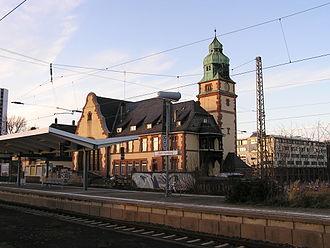 Homburg Railway - New Homburg station