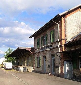 Uhldingen-Mühlhofen - Train station