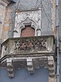 Balcony, Hunyadi courtyard, Vajdahunyad Castle, 2018 Városliget.jpg
