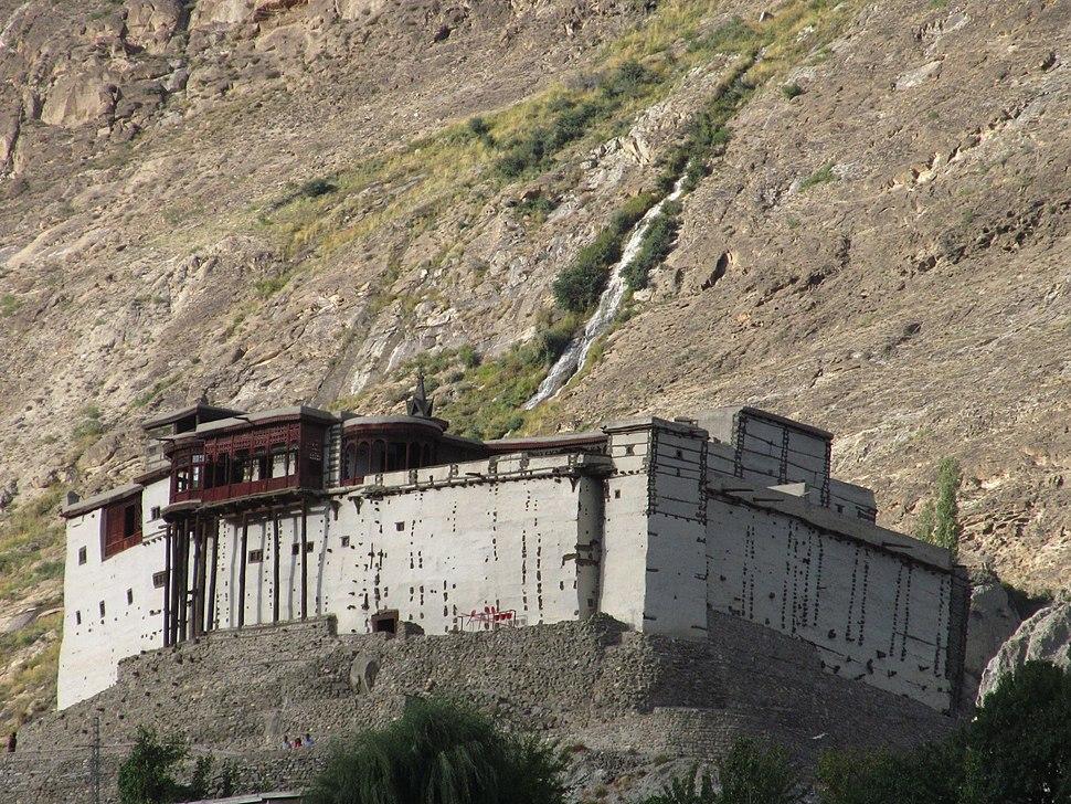 Baltit fort distance