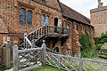 Balustrade and steps Hatfield House Old Palace Hertfordshire England.jpg