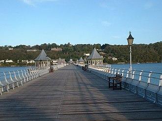 Garth Pier - Image: Bangor Pier geograph.org.uk 1287040