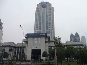 Bank Mandiri - Headquarter of Bank Mandiri in Jakarta