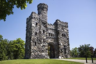 George Bancroft - Bancroft Tower, Worcester, Massachusetts