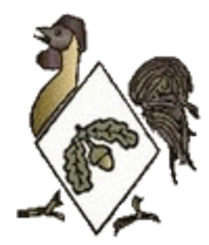40th Division (United Kingdom) - Insignia showing a bantam.