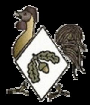 40th Division (United Kingdom) - Insignia showing a bantam.