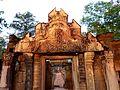 Banteay Srei - 004 Eastern Gateway (8582532046).jpg