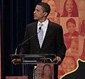 Barack Obama at All-American Presidential Forum on PBS (661243943).jpg
