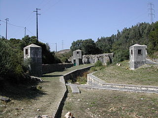 Roman Dam of Belas Dam in Queluz e Belas, Lisbon