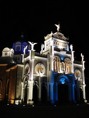 Cartago Province - Image: Basílica de Los Ángeles
