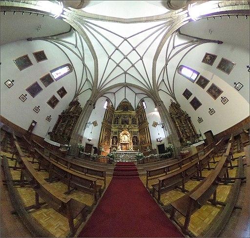Basílica de la Virgen de la Encina - Retablo y cúpula
