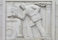 Bas-relief sculpture, Robert N.C. Nix Federal Building, Philadelphia, Pennsylvania LCCN2010718952.tif