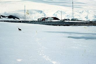 Research stations in Antarctica - View of Chile's Captain Arturo Prat Base, established in 1947
