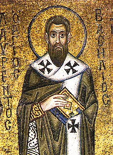 Basil of Caesarea 4th-century Christian bishop, theologian, and saint