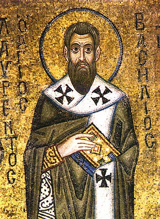 Basilian monks - Icon of St. Basil the Great from the St. Sophia Cathedral of Kiev.