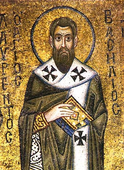 Saint Basil, 4th-century Christian bishop, theologian, and saint