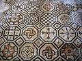 Basilica di aquilieia, mosaici, entrance carpet, geometrico 01.JPG