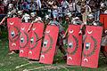 Batalla entre castrexos e romano. Festa do esquecemento. Xinzo de Limia, Ourense, Galicia.jpg